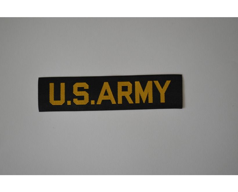 U.S. Army Name Tape For Fishtail Parka