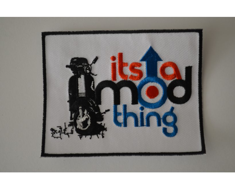 Its A Mod Thing Parka Badge