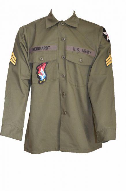 Lennon og507 army shirt