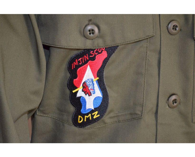 john lennon og507 army shirt detail