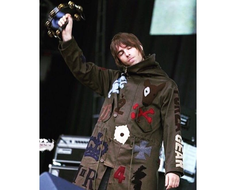 Liam Gallager Fake London Parka Finsbury Park