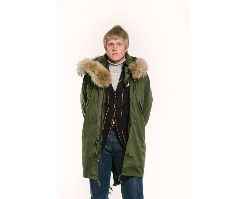 M-1965 fishtail parka male model front