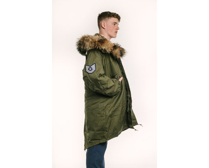 m65 quadrophenia parka side view