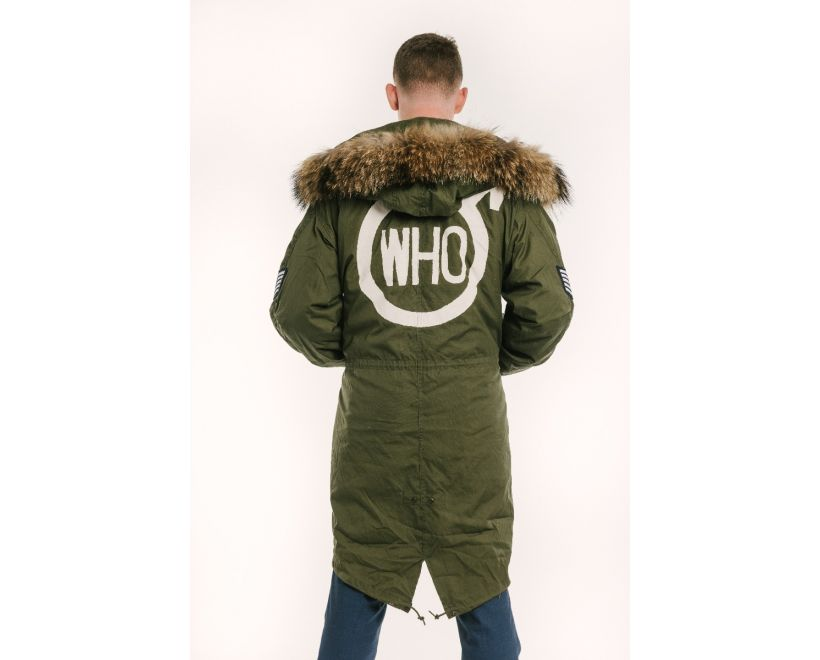 the who painted quadrophenia parka logo