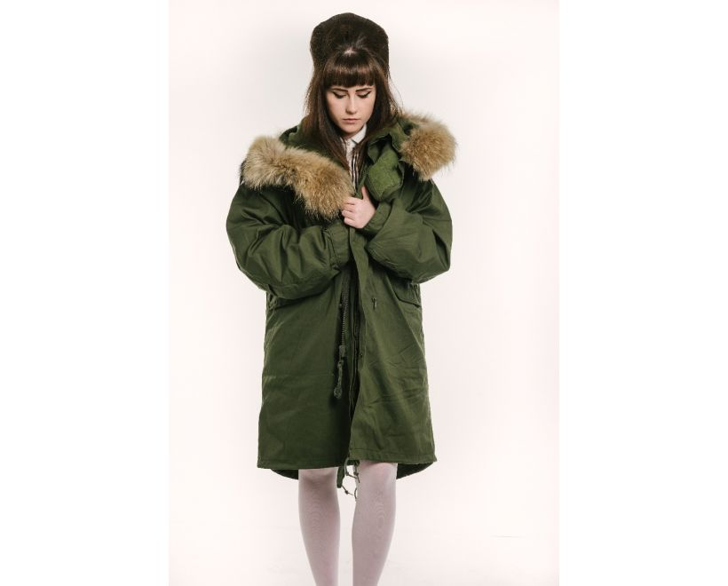 womens m1965 fishtail parka