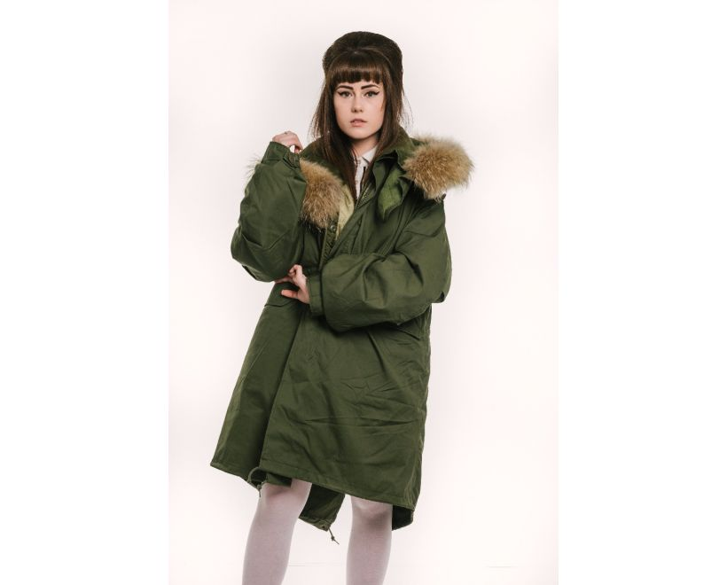 womens m65 parka front