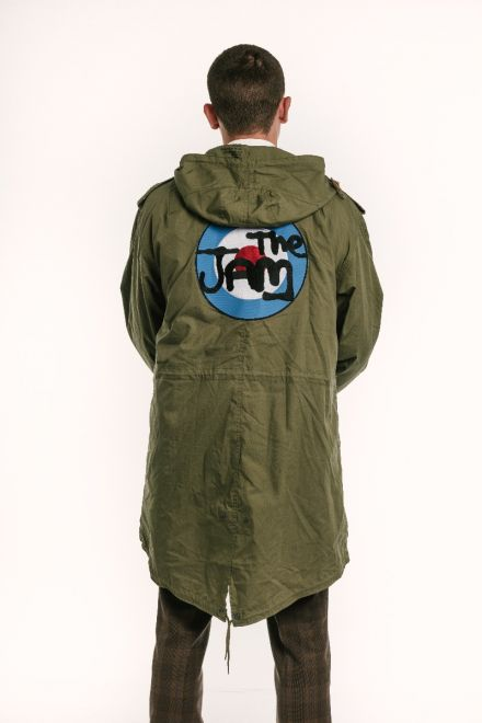 The Jam fishtail parka back