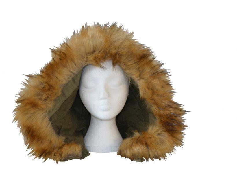 m1951 faux fur parka hood
