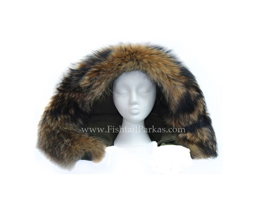 Parka Hood Real Fur Re-trimming Service
