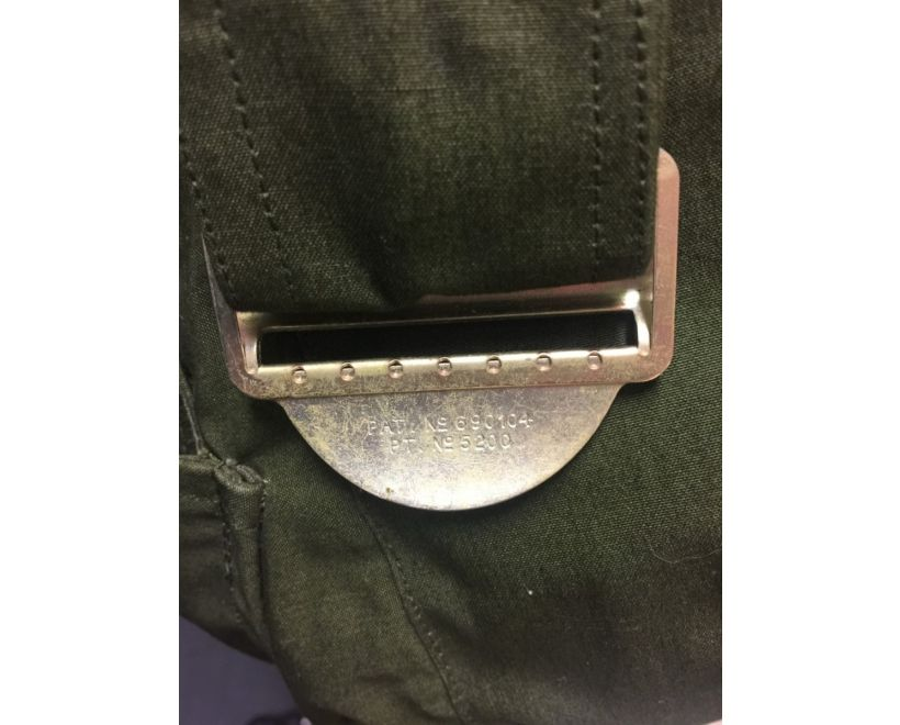 raf ventile parka metal waist buckle
