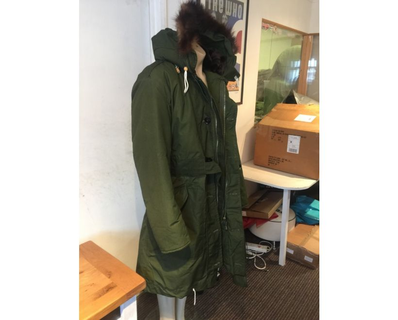 raf ventile parka side view
