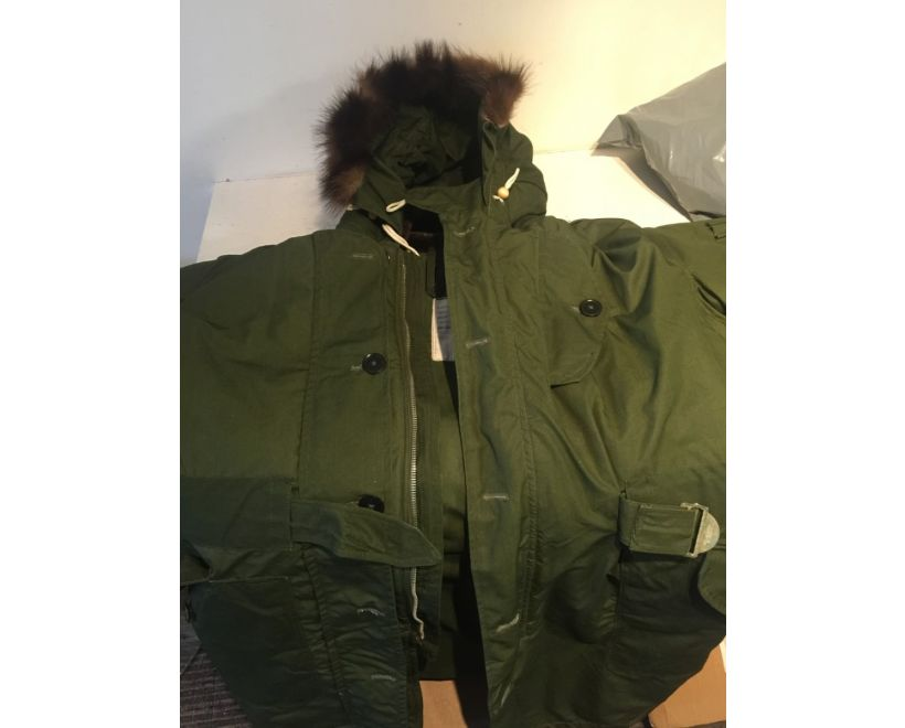 raf ventile ground crew parka