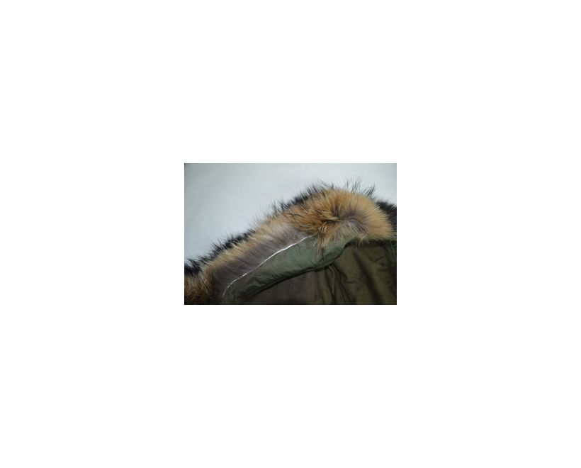 Real Fur M65 Parka Hood