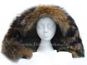Real Fur Hoods Re-trimming service