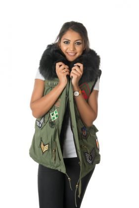 Stonetail Military Badged Gilet