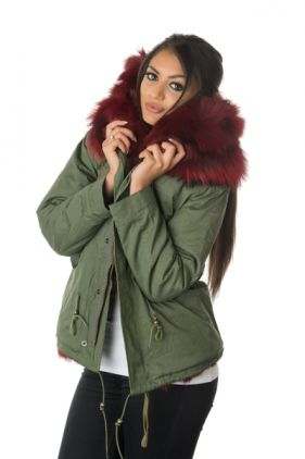 Stonetail Ruby Red Fox Fur Jacket