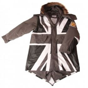 David Watts Union Flag Mono Fishtail Parka