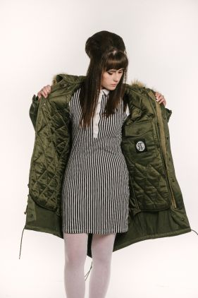stonetail m1948 fishtail parka