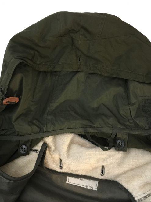 1956 fishtail parka hood detail