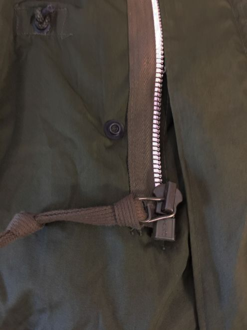 1956 revision model talon zipper