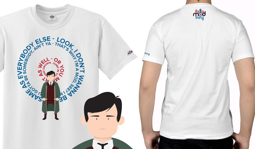 Jimmy Quadrophenia Mod T-Shirt