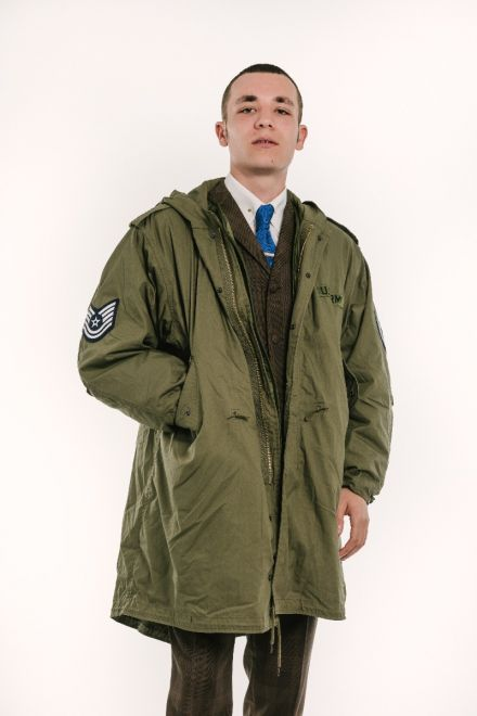 The Jam parka front model shot