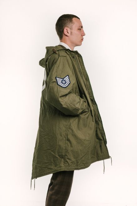 m1951 quadrophenia fishtail parka side view