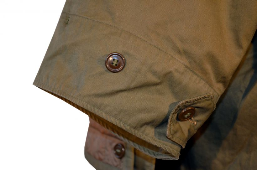 M-1948 prototype cuff button detail