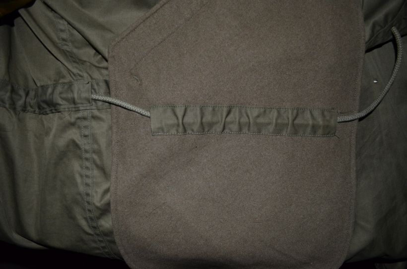 m48 prototype pocket lining detail