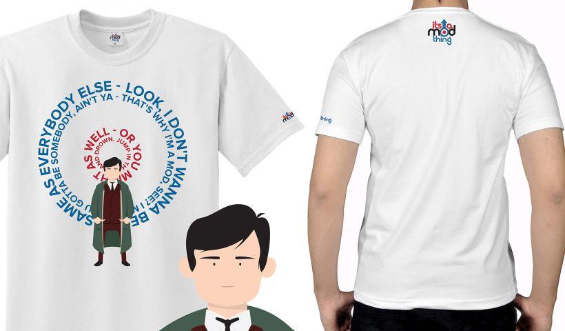 Jimmy Quadrophenia Mod T-Shirt