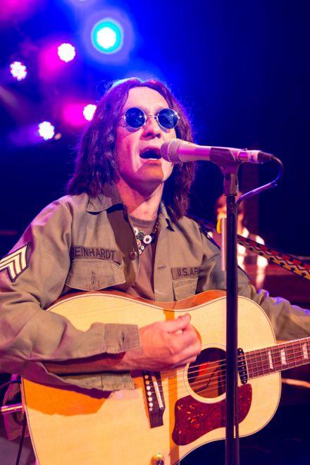 John Lennon OG107 fatigue army shirt
