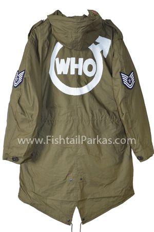 classic quadrophenia fishtail parka