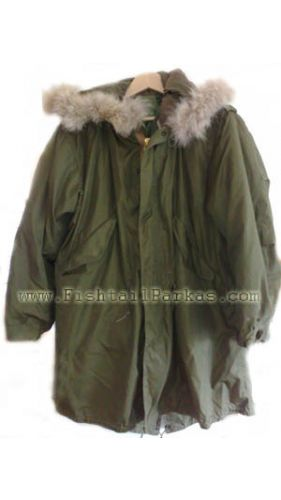 Authentic M-1951 Fishtail Parka