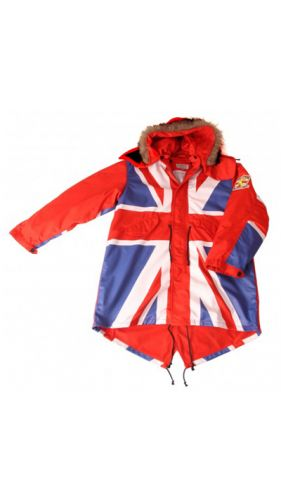 David Watts Union Jack Parka Full Colour