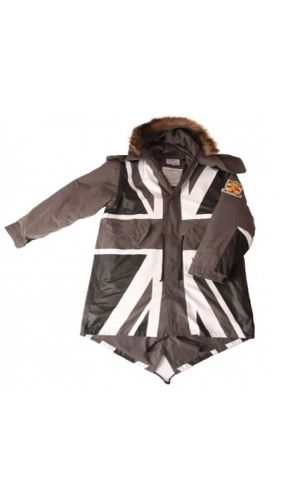 David Watts Union Jack Parka Mono