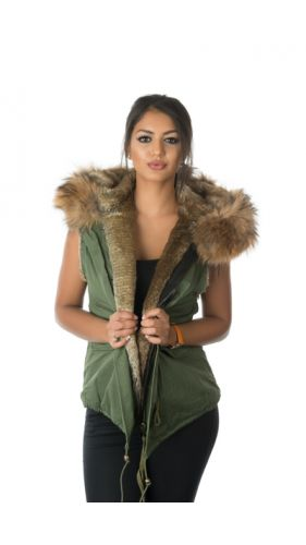 Stonetail Natural Fur Gilet