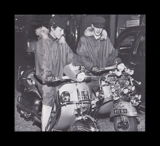 mods wearing m-1948 fishtail parka