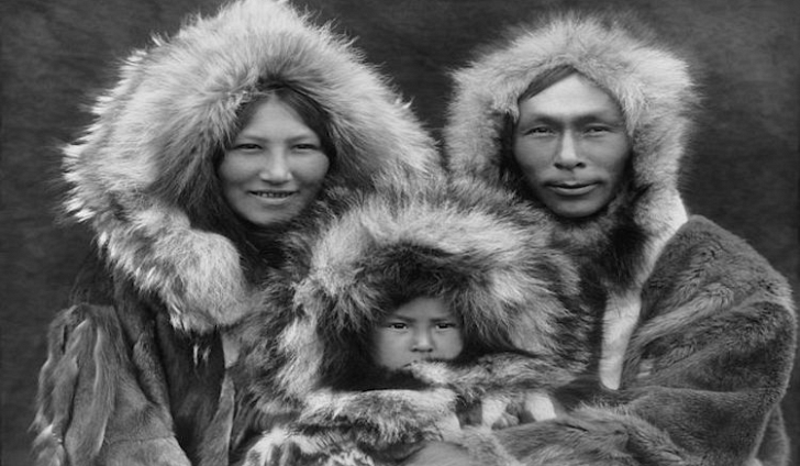 Inuit eskimo people and their relationship to the fishtail parka