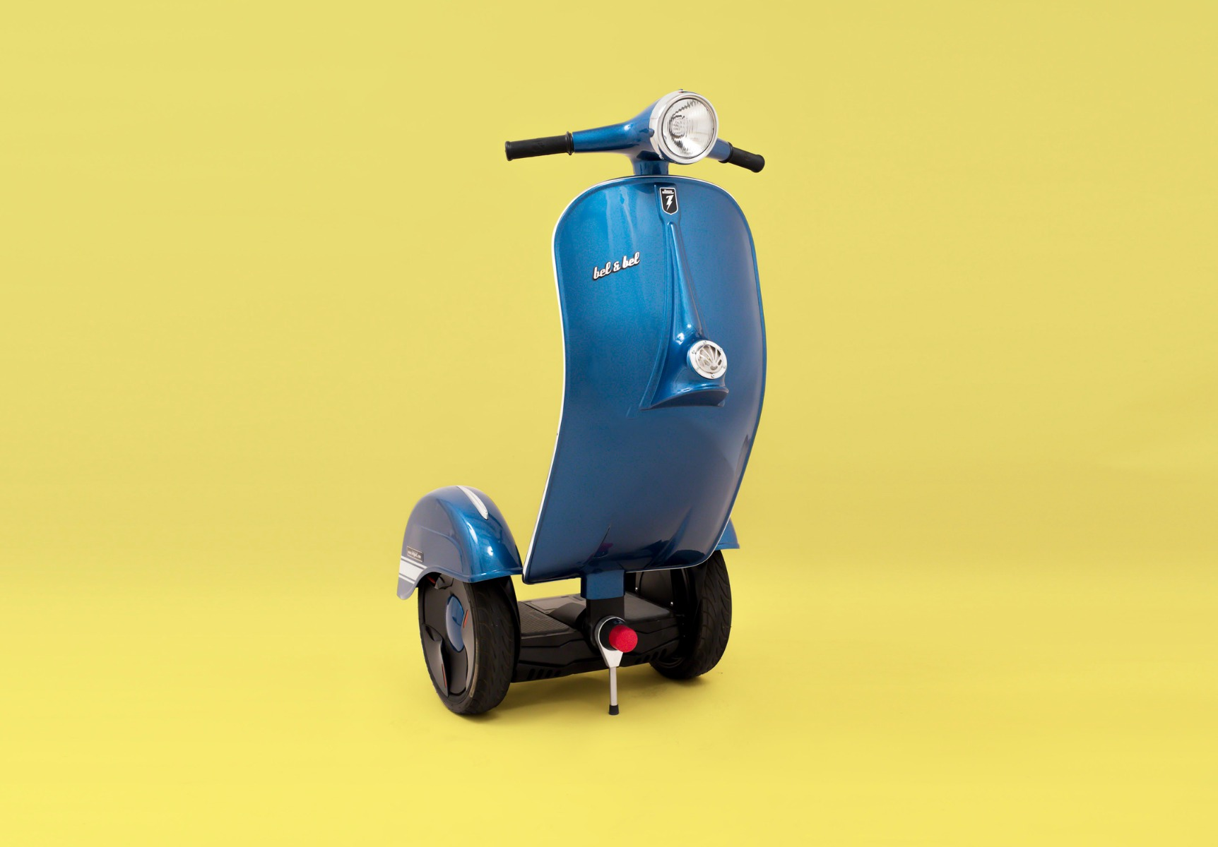 Blue Bel & Bel Scooter